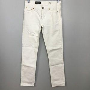 J. Crew Matchstick Sz 26 Short White